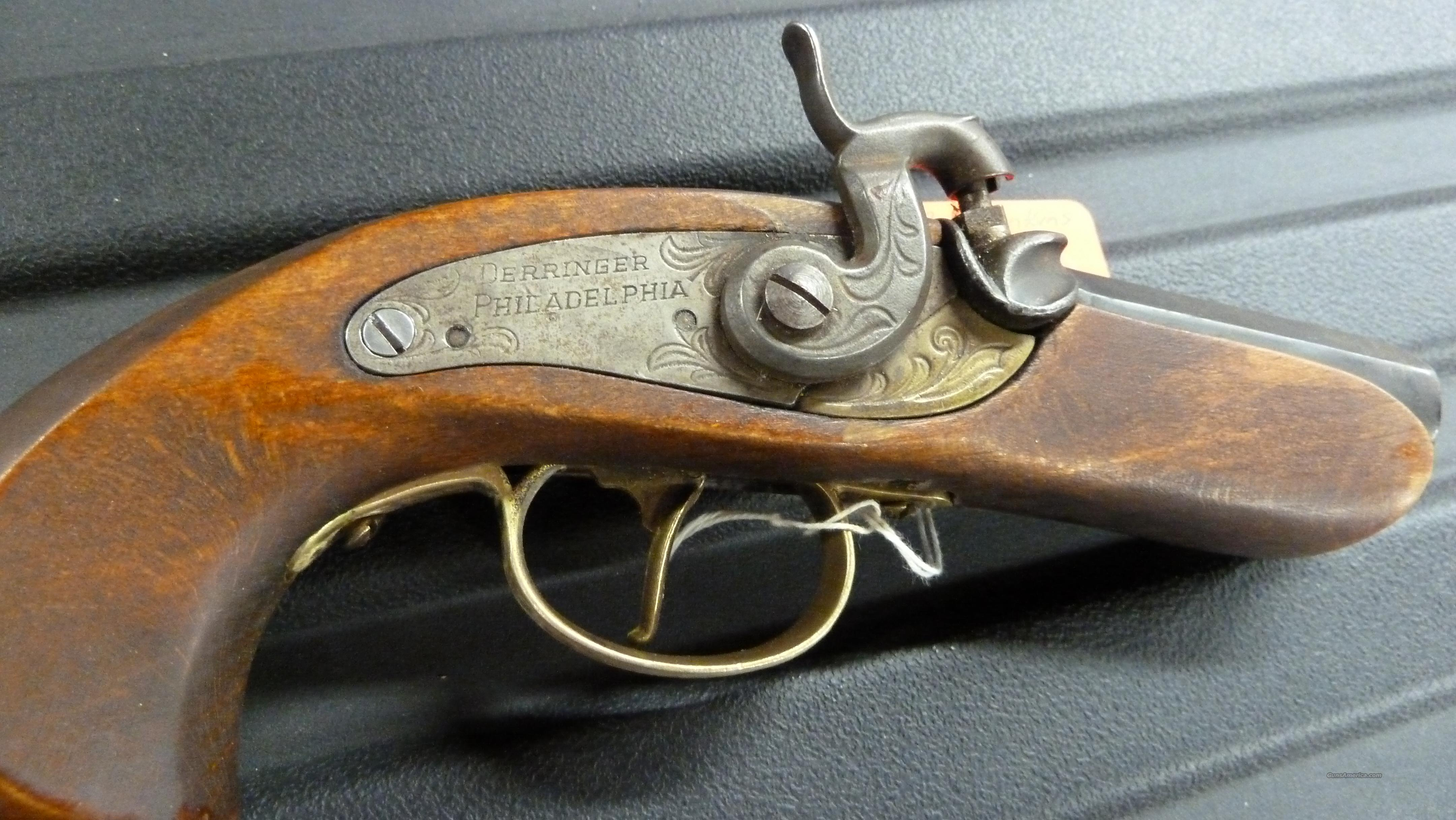 PHILADELPHIA DERRINGER .50 BLACK POWDER VINTAGE!   Guns > Pistols > Derringer Pre-1899
