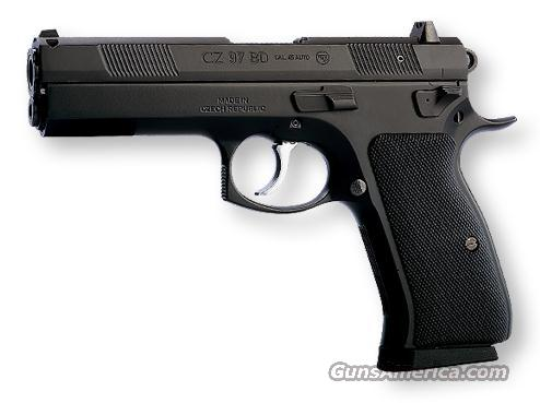 CZ97 BD MATTE BLACK poly coat, Night Sights!  Guns > Pistols > CZ (Ceska ZBrojovka) Pistols