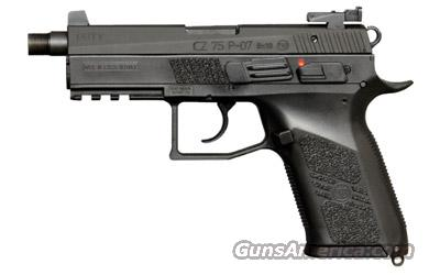 CZ P-07 Duty with threaded barrel  Guns > Pistols > CZ (Ceska ZBrojovka) Pistols