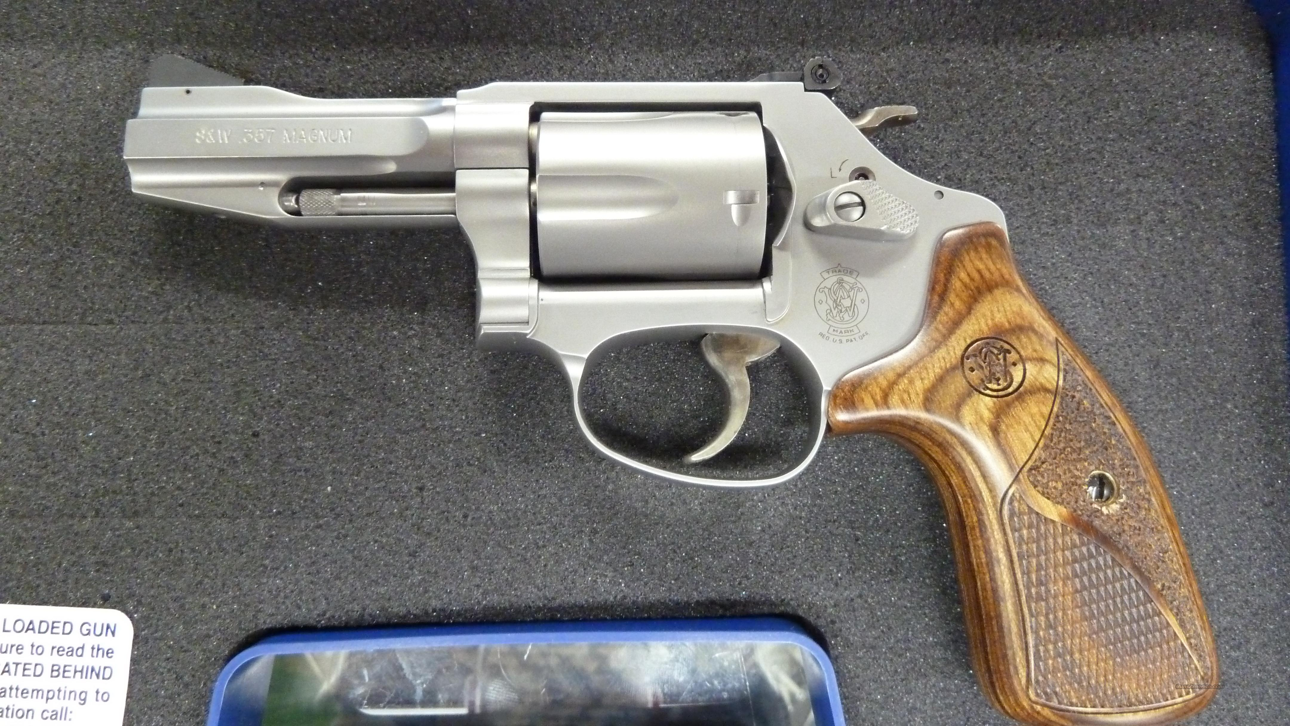 SMITH AND WESSON MODEL 60 PRO SERIES .357 MAGNUM  Guns > Pistols > Smith & Wesson Revolvers > Performance Center