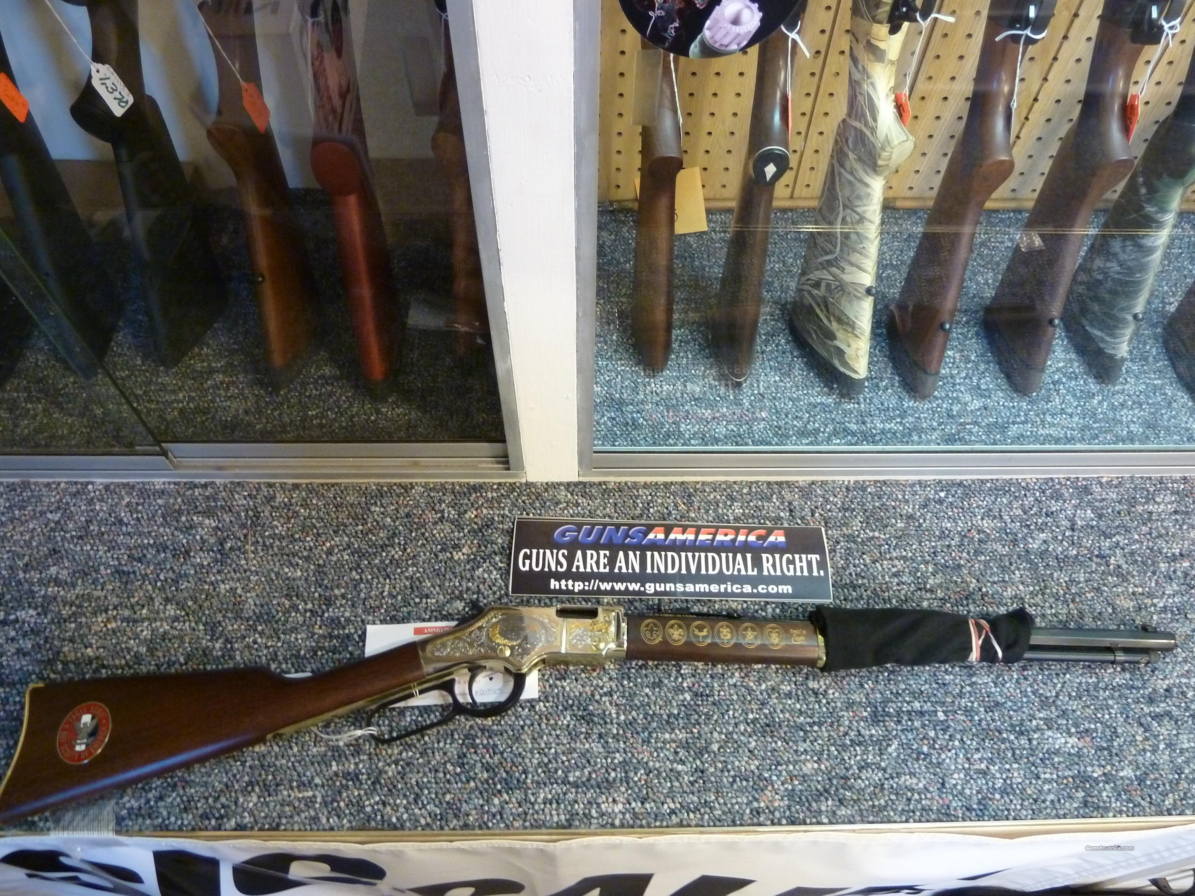 Henry Eagle Scout Limited Edition rifle  Guns > Rifles > Henry Rifle Company
