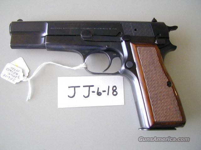 Browning Hi-power Belgium  Guns > Pistols > Browning Pistols > Hi Power