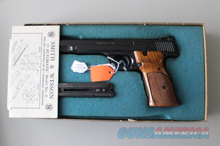 Smith & Wesson Model 41. 22 Cal.  Guns > Pistols > Smith & Wesson Pistols - Autos > .22 Autos