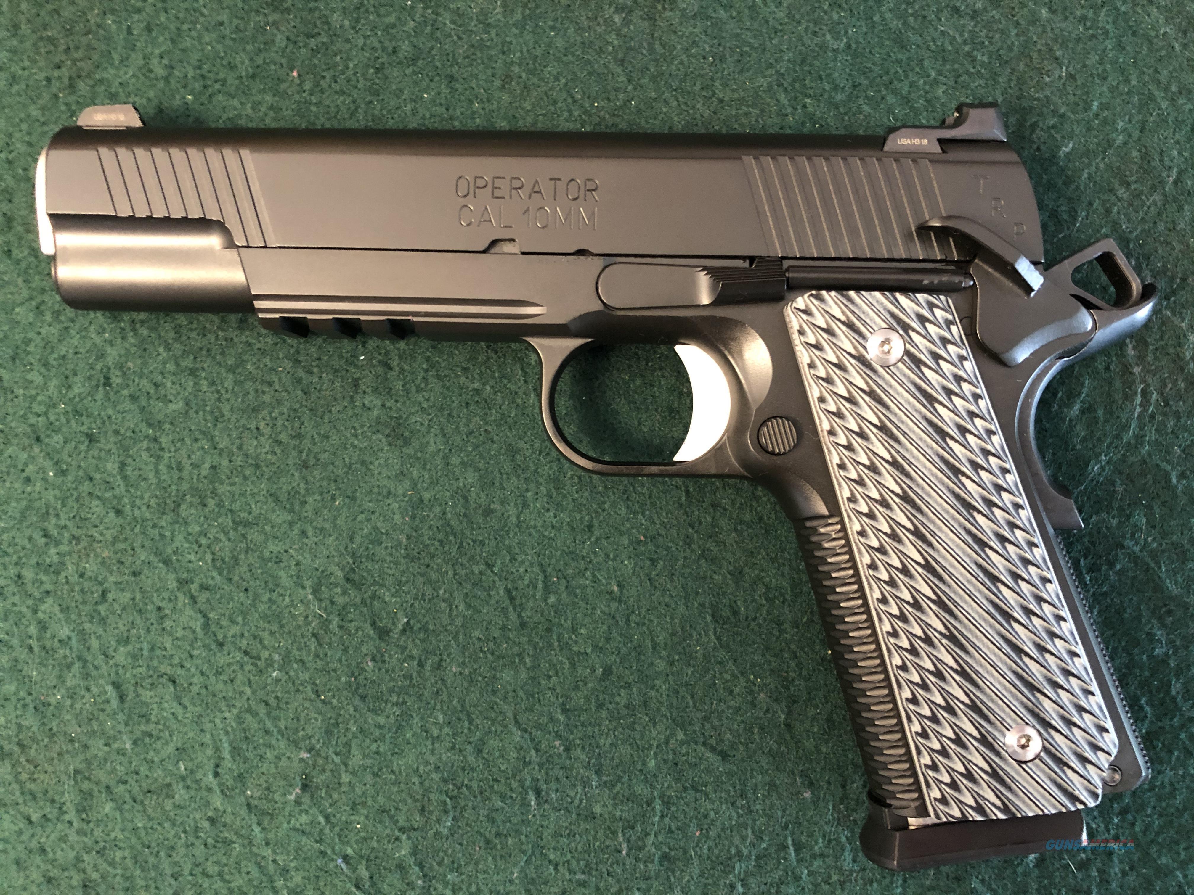 "Springfield Armory TRP 10mm 5"" Custom  Guns > Pistols > 1911 Pistol Copies (non-Colt)"