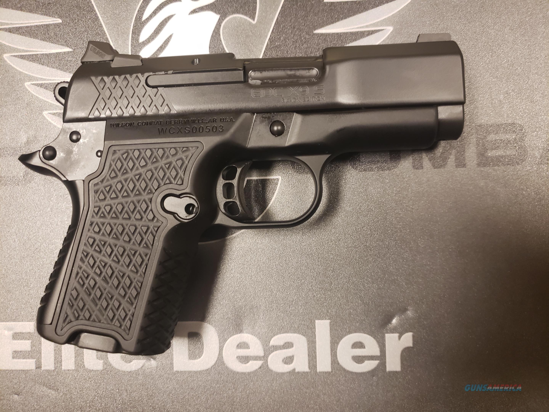 Wilson Combat EDC X9S 9mm Blackout Edition  Guns > Pistols > Wilson Combat Pistols