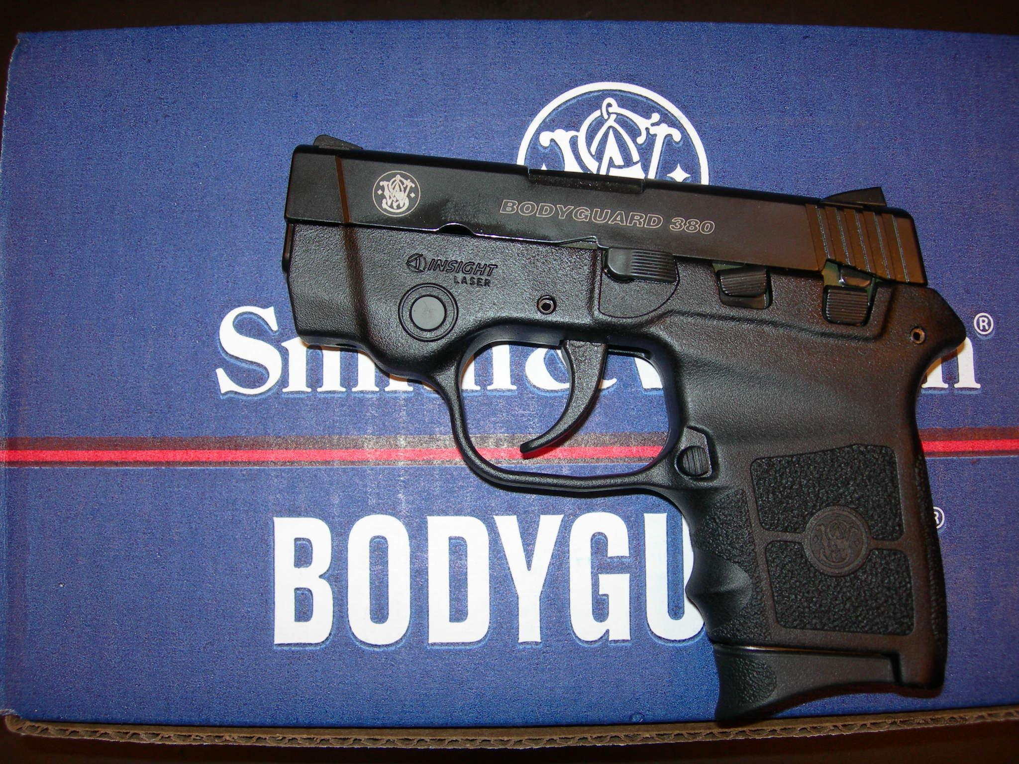 Smith & Wesson BODYGUARD 380 ACP  Guns > Pistols > Smith & Wesson Pistols - Autos > Polymer Frame