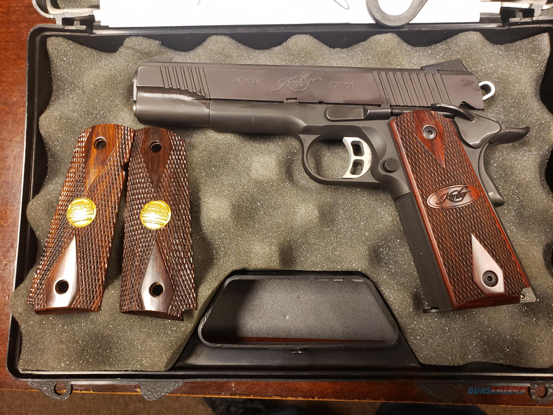Kimber Series 1 Classic Custom Heritage Edition  Guns > Pistols > Kimber of America Pistols > 1911