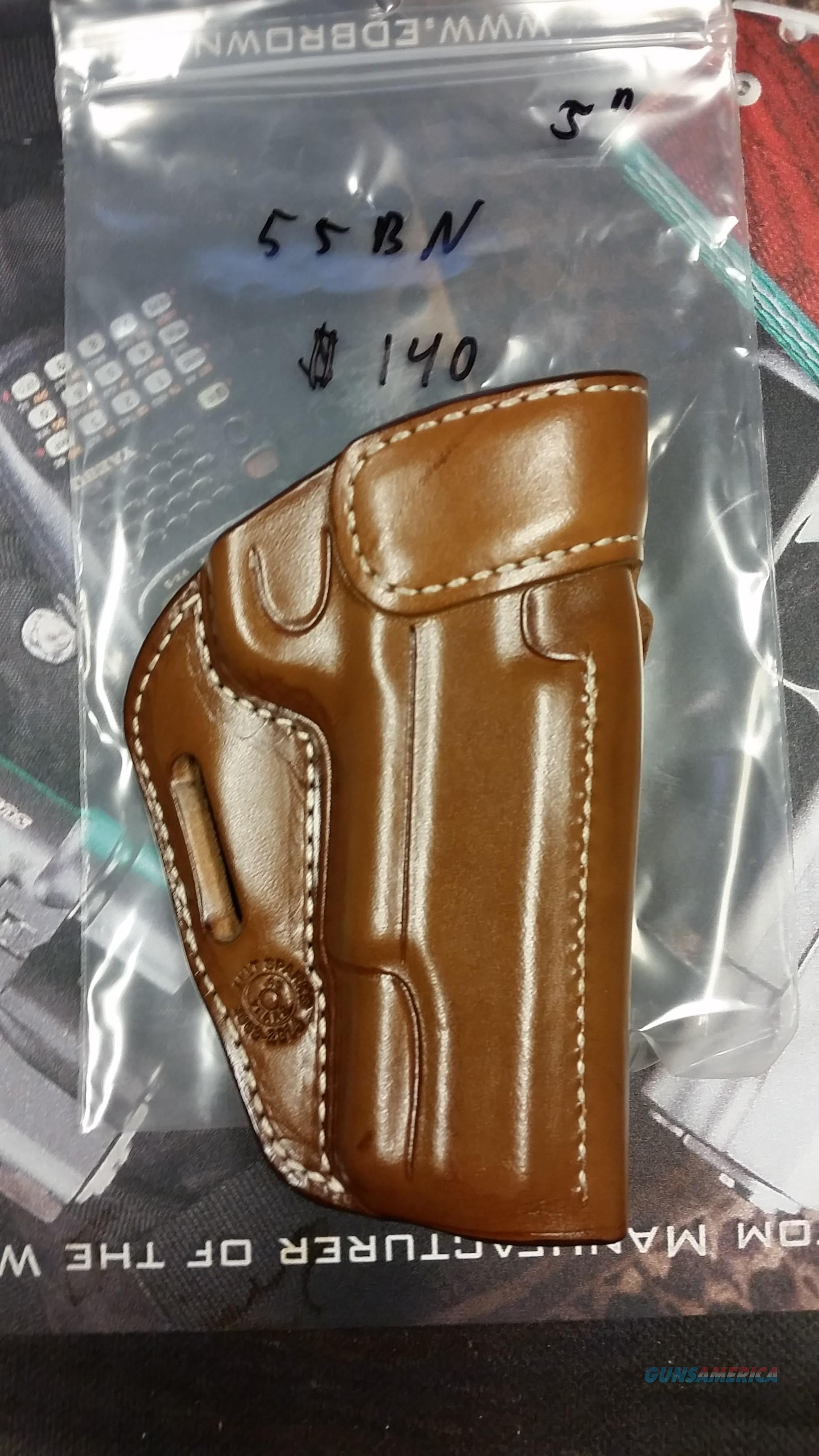 "Milt Sparks 55BN Natural Tan 5"" 1911  Non-Guns > Holsters and Gunleather > Large Frame Auto"