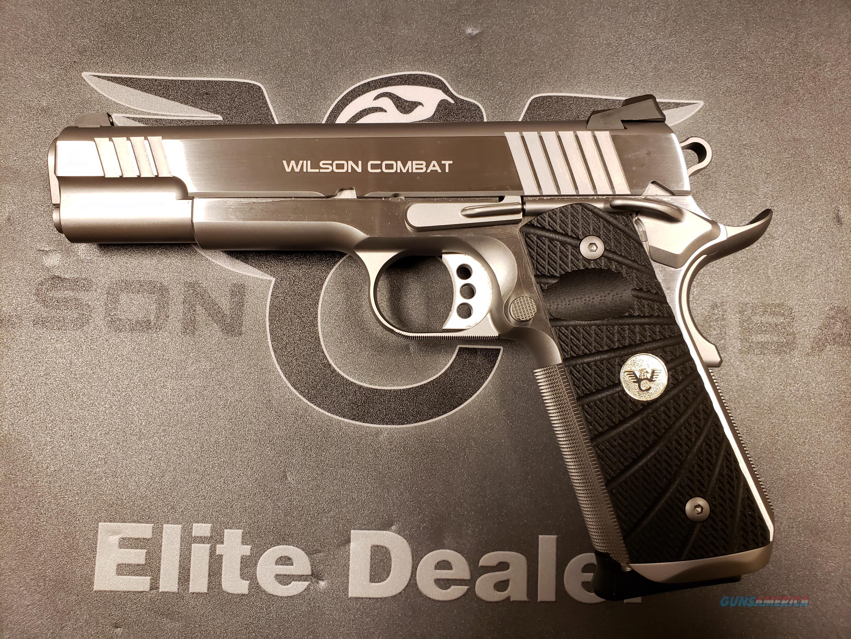 Wilson Combat Tactical Supergrade .45 Stainless  Guns > Pistols > Wilson Combat Pistols