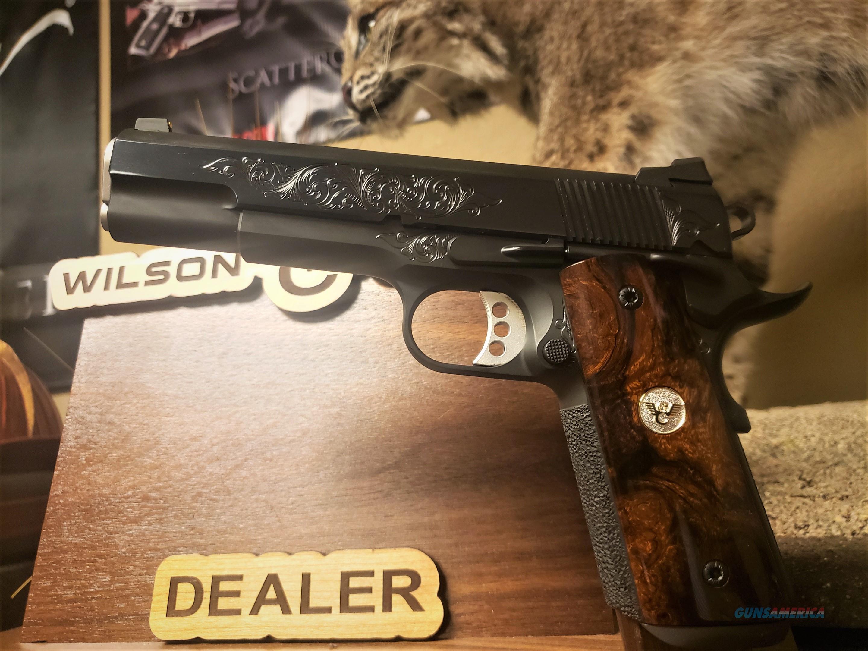 Wilson Combat Classic Supergrade Lvl2 Engraved Hi Polished Blue  Guns > Pistols > Wilson Combat Pistols