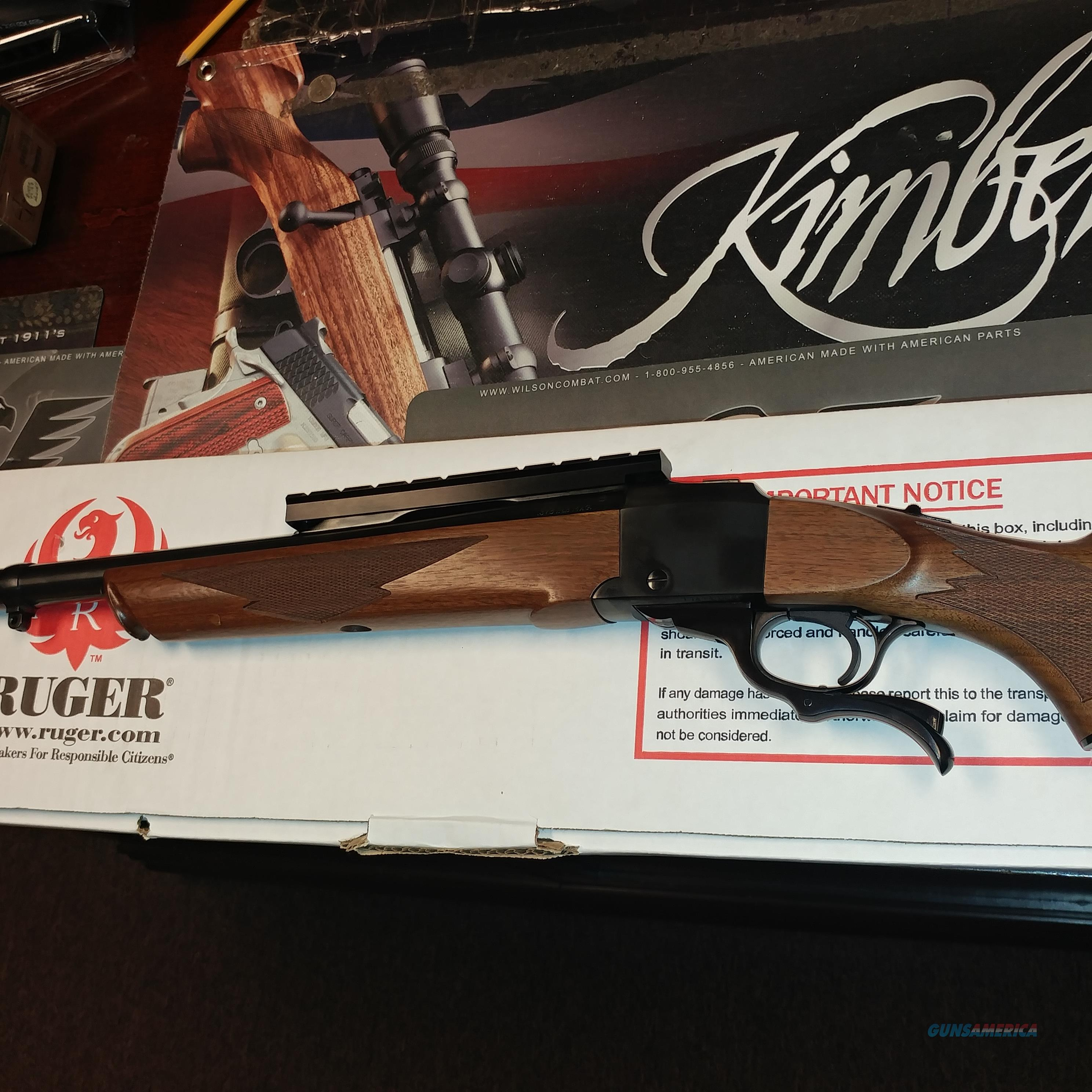 Ruger No.1 .375 H&H/Ammo/Dies  Guns > Rifles > Ruger Rifles > #1 Type