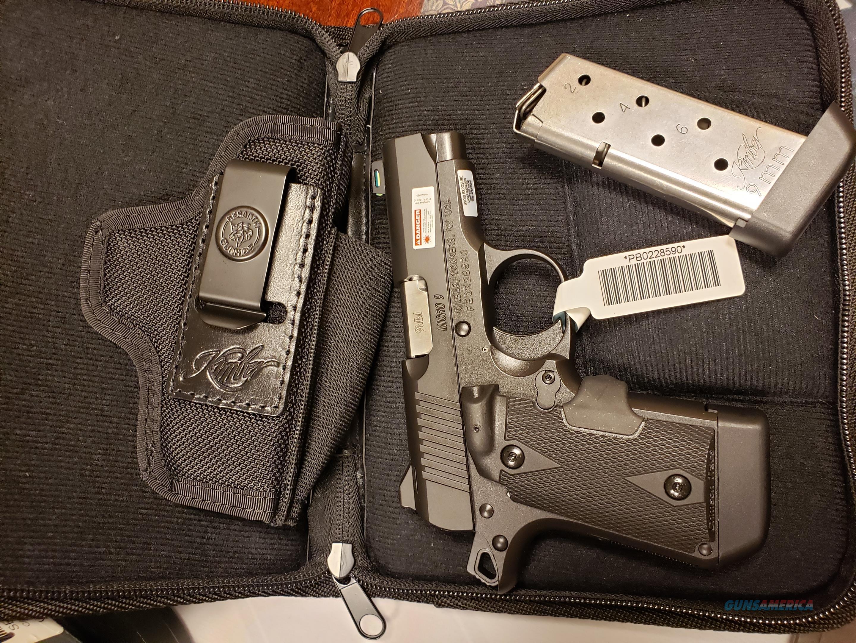 Kimber Micro 9 Laser Grip Black/ Holster  Guns > Pistols > Kimber of America Pistols > Micro 9