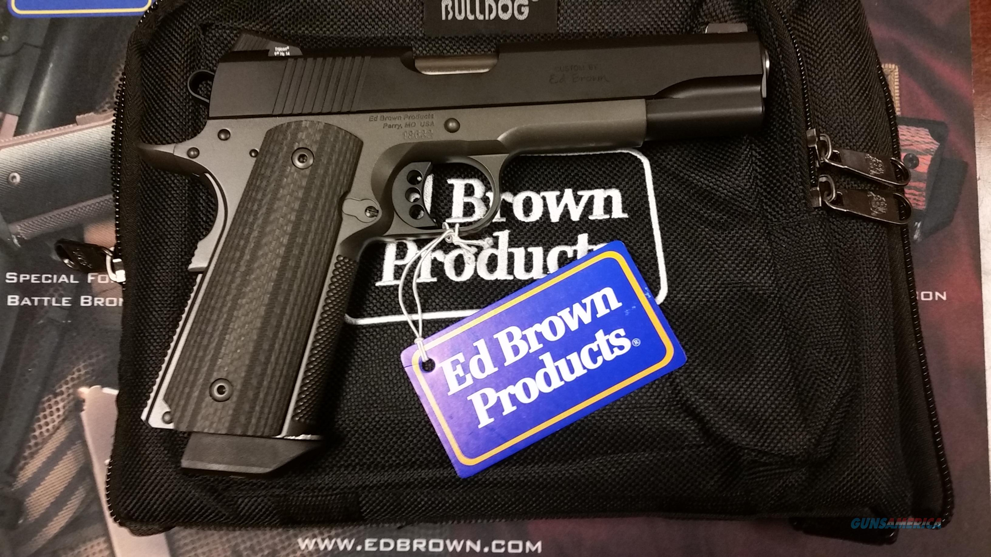Ed Brown Special Forces3 Stealth Grey Gen4 .45ACP  Guns > Pistols > Ed Brown Pistols