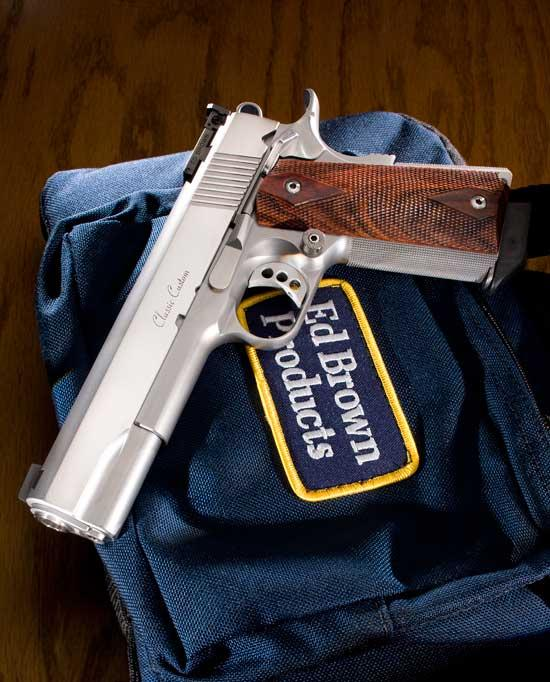 Ed Brown Products Classic Custom All Stainless  Guns > Pistols > Ed Brown Pistols