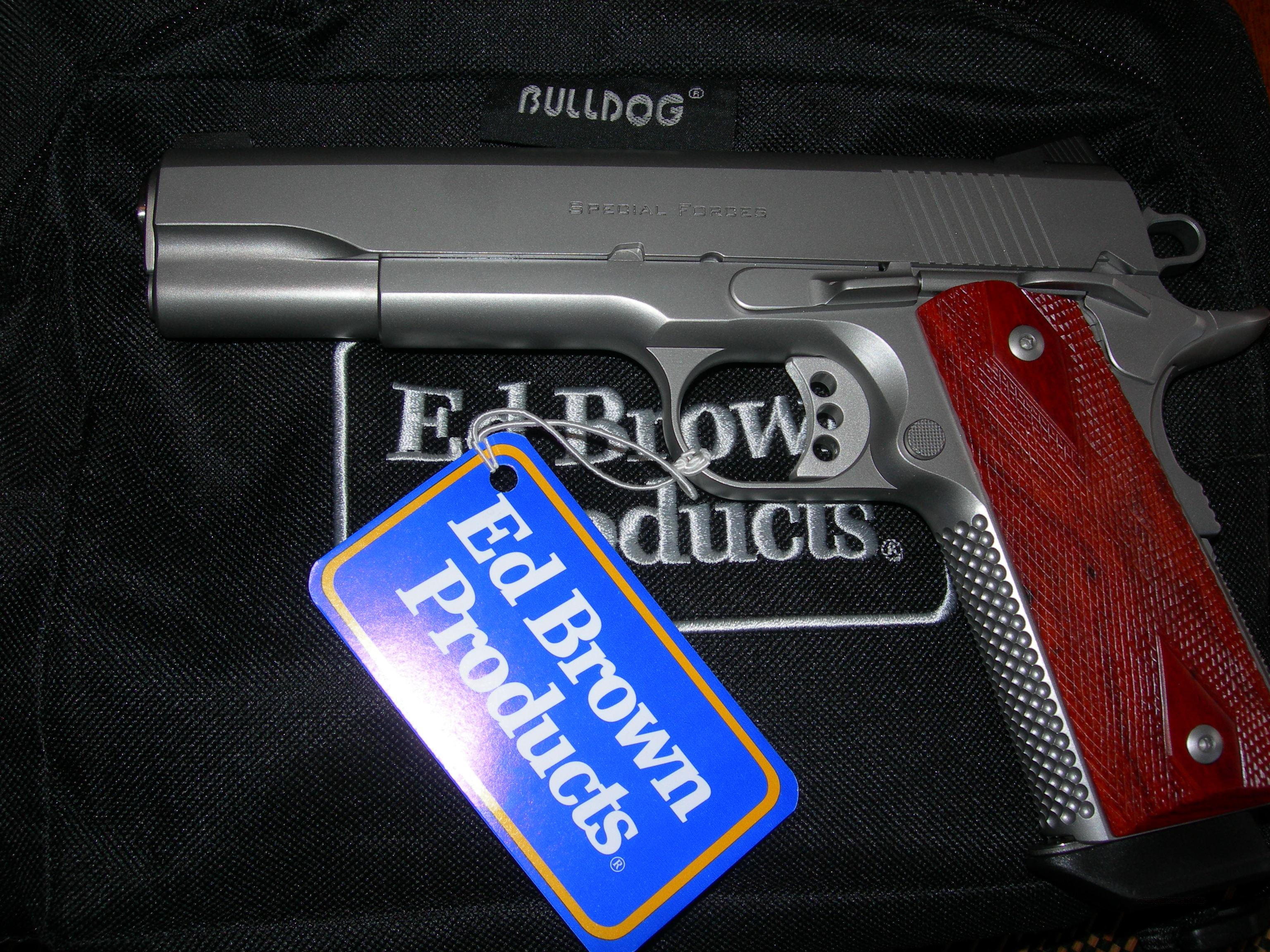 Ed Brown  Special Forces 9mm SS #21 of 100  Guns > Pistols > Ed Brown Pistols