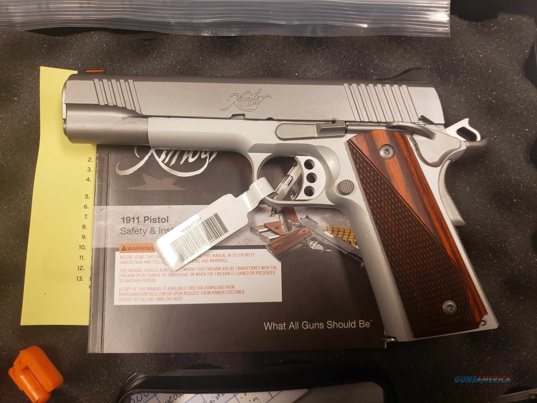 Kimber Stainless Lightweight .45ACP  Guns > Pistols > Kimber of America Pistols > 1911