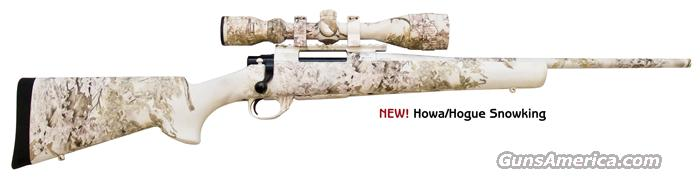 HOWA 1500 BELOW COST! bolt action in .243 win snow king camo with nikko sterling variable scope  Guns > Rifles > Howa Rifles