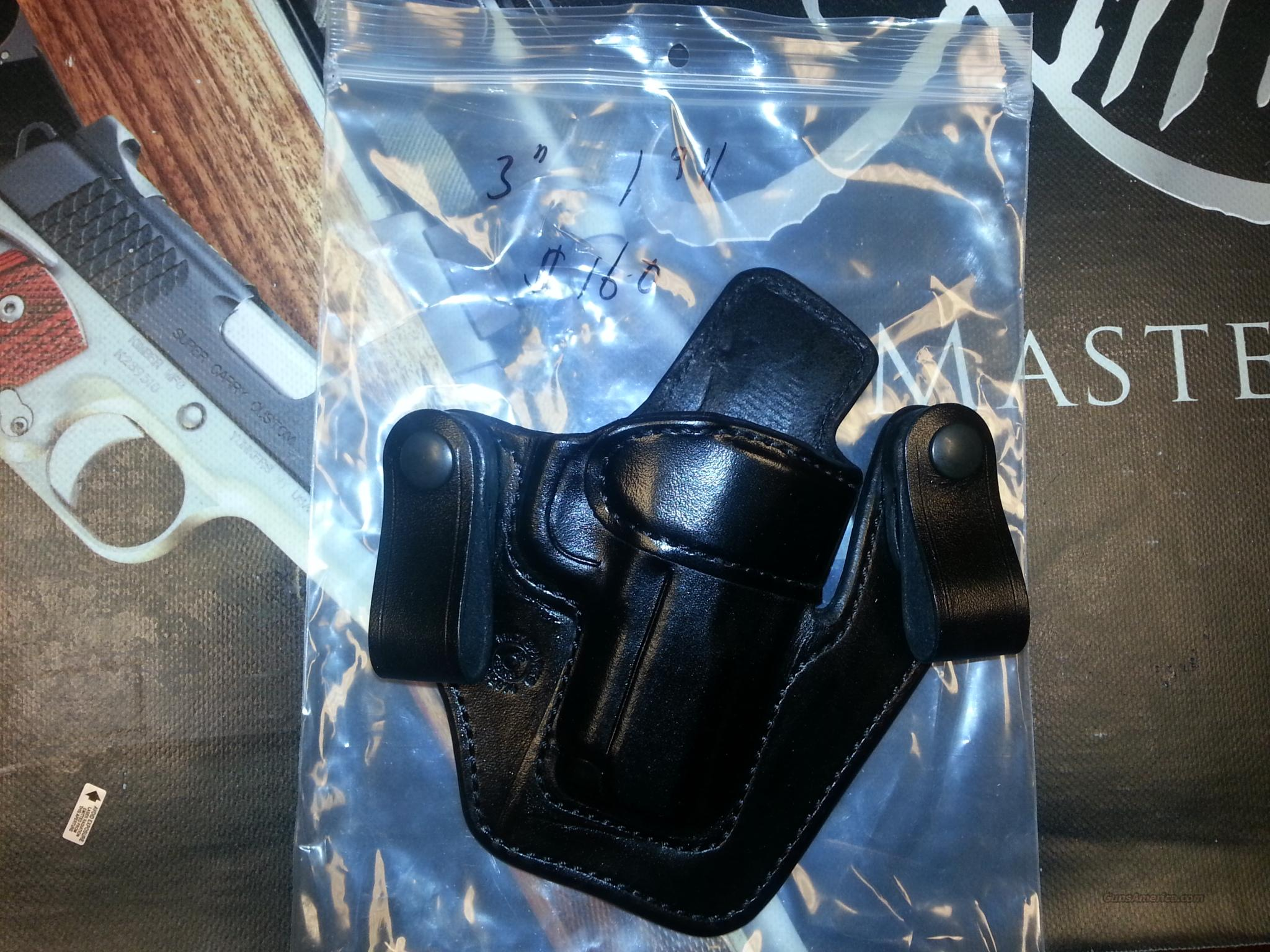 "Milt Sparks Versa Max II 3"" 1911 Black  Non-Guns > Holsters and Gunleather > 1911"