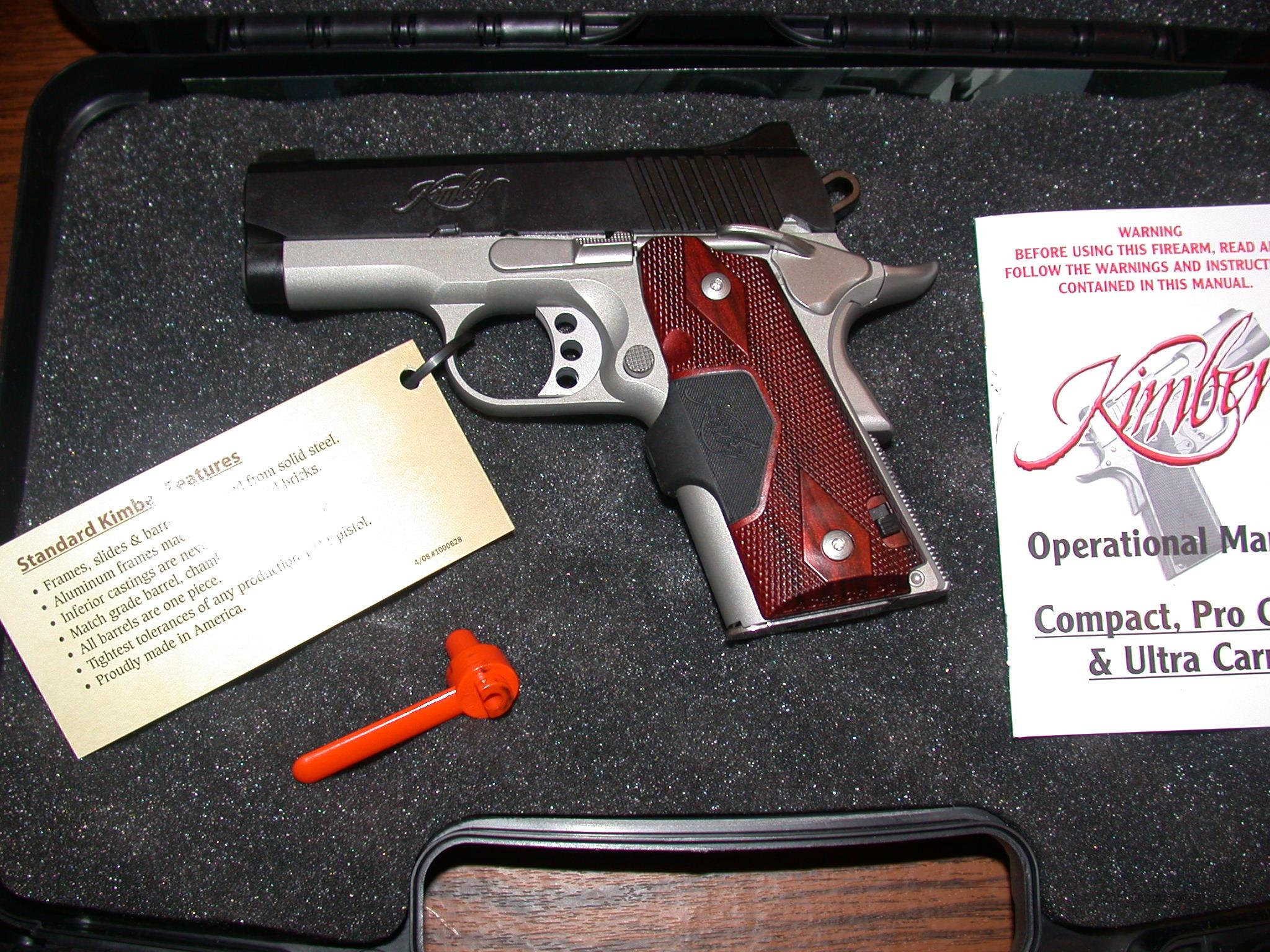 Kimber Ultra Crimson Carry II (LG) .45 ACP  Guns > Pistols > Kimber of America Pistols