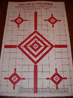 Targets, 100yd rifle REDUCED  Non-Guns > Miscellaneous