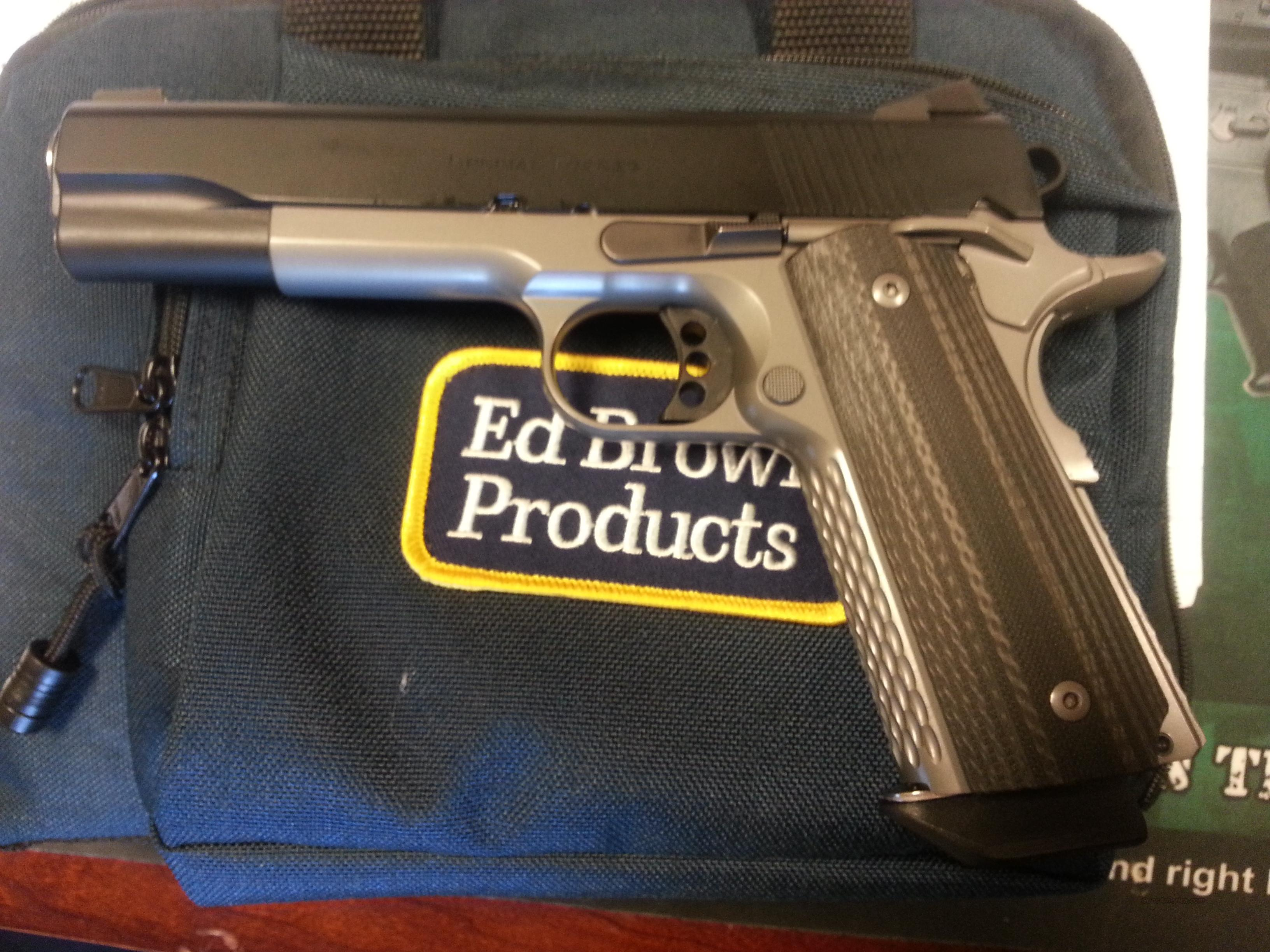 Ed Brown Special Forces Stealth Gray Used As New 45ACP  Guns > Pistols > Ed Brown Pistols