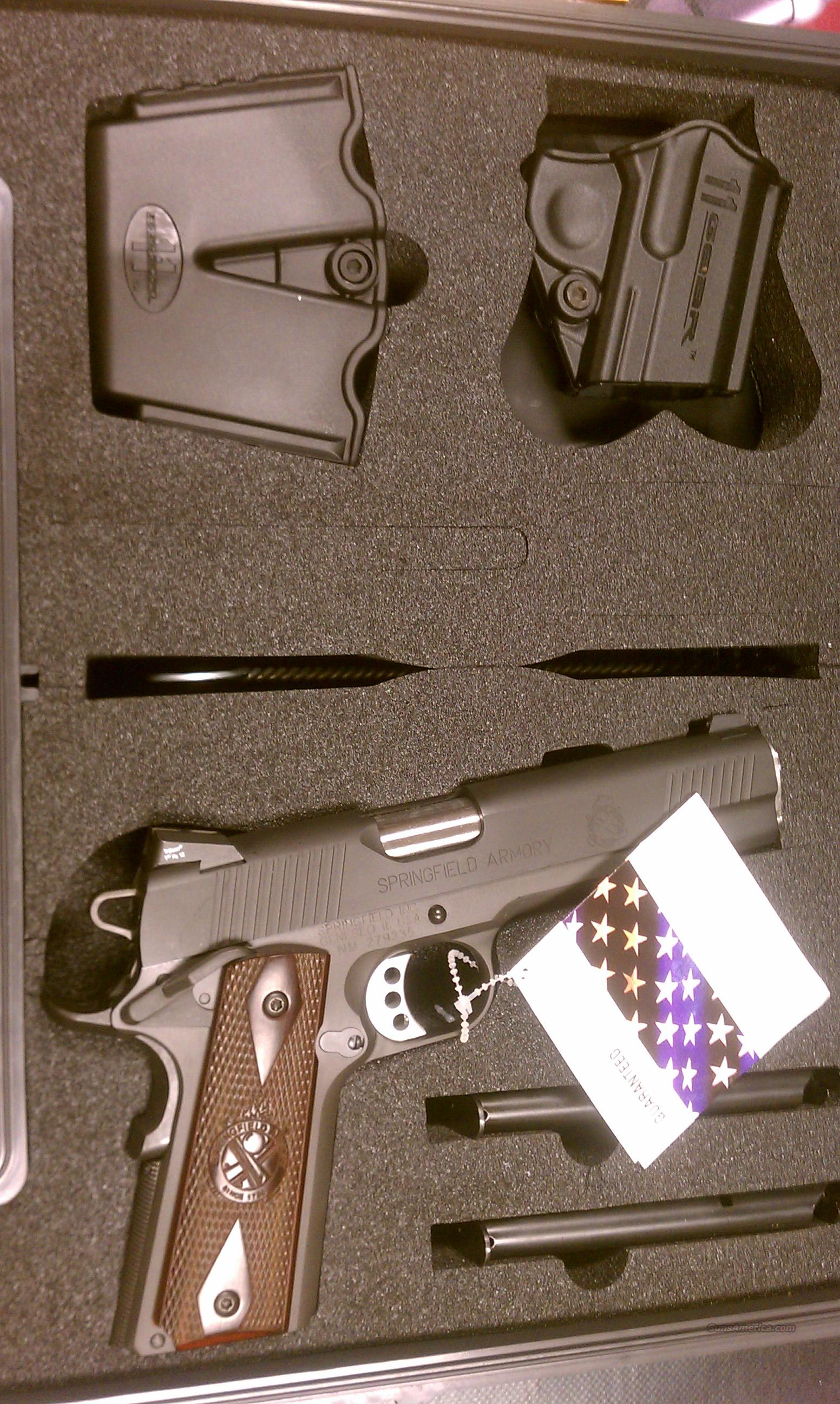 Springfield 1911A1 Loaded Night Sights PX9109LP  Guns > Pistols > Springfield Armory Pistols > 1911 Type