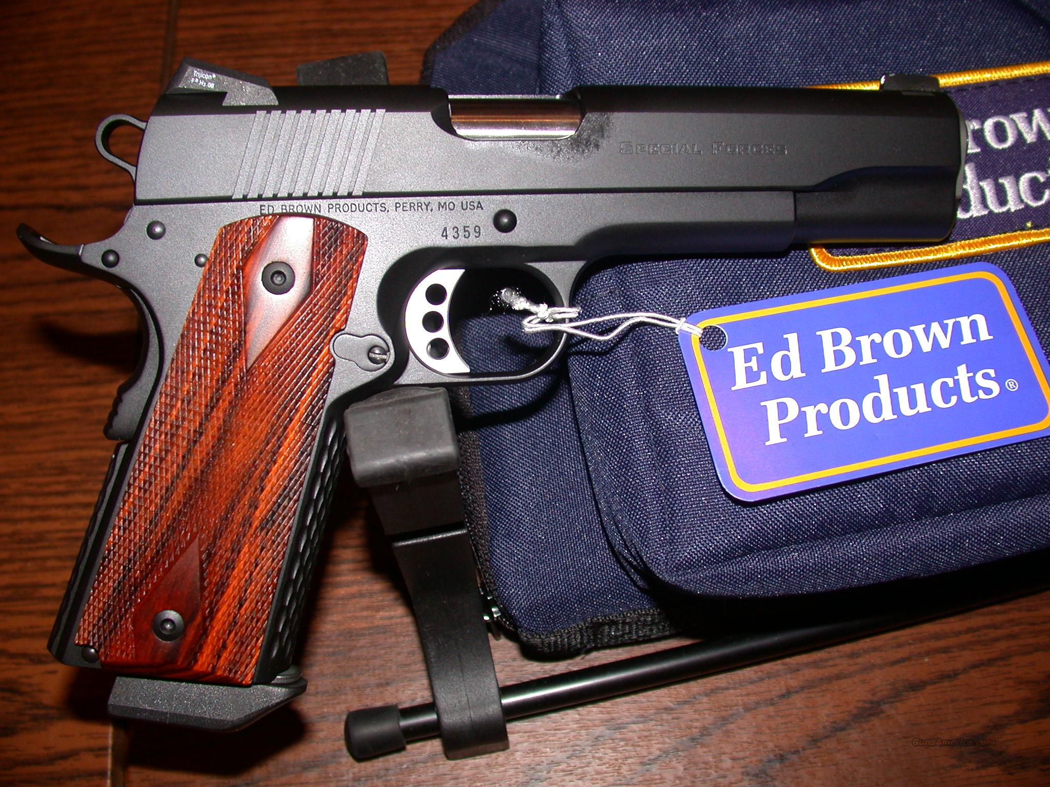 Ed Brown SPECIAL FORCES .45 acp  Guns > Pistols > Ed Brown Pistols