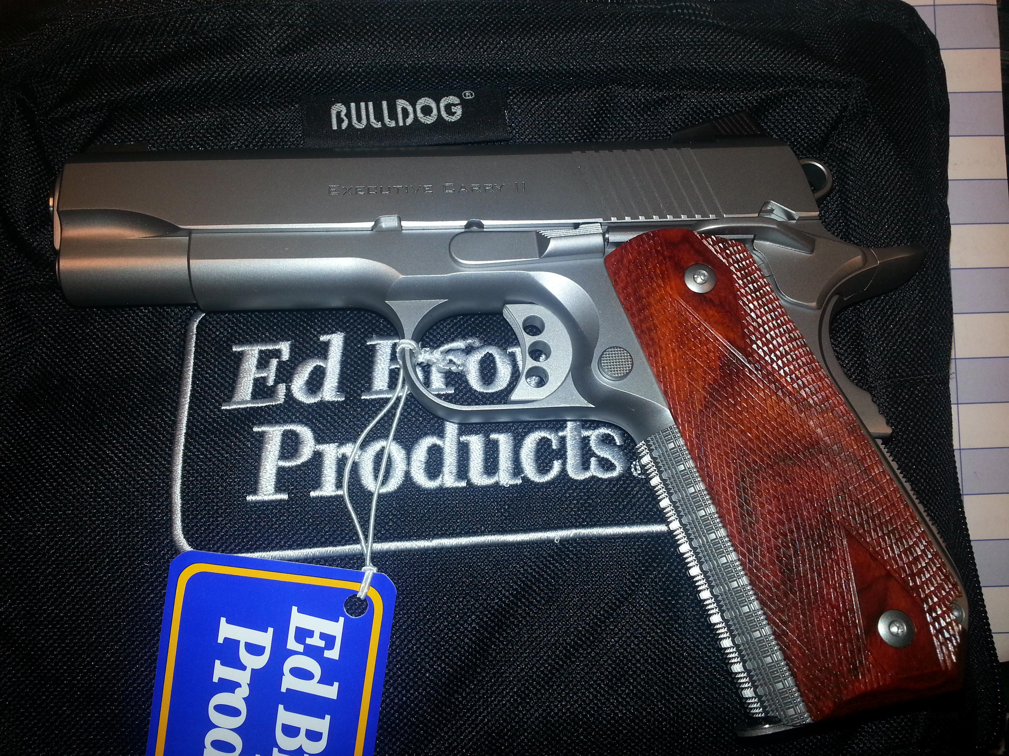 Ed Brown Executive Carry II Skip Line Checkering .45ACP  Guns > Pistols > Ed Brown Pistols