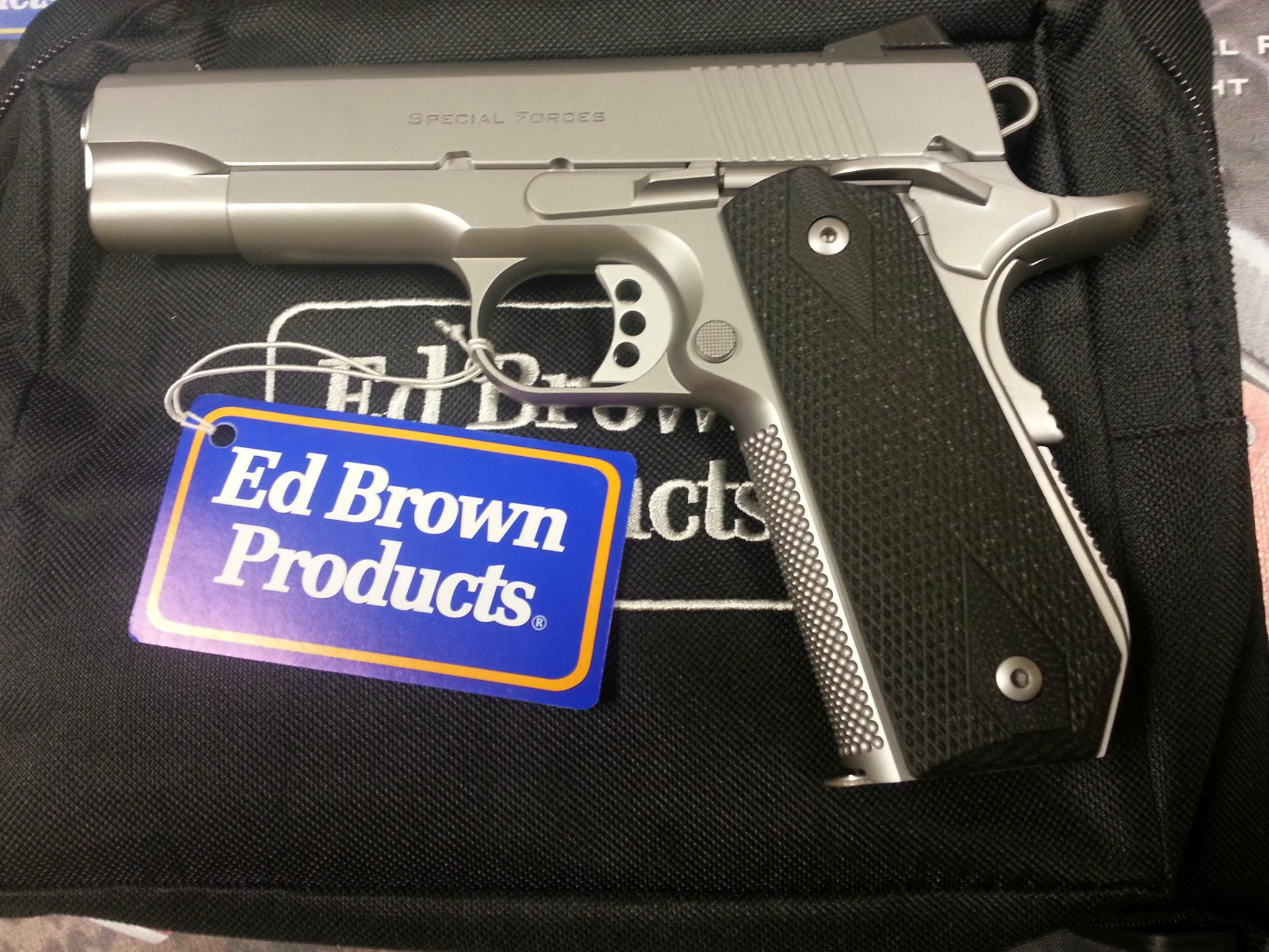 Ed Brown Special Forces Carry III  SS Chainlink 3 .45ACP  Guns > Pistols > Ed Brown Pistols