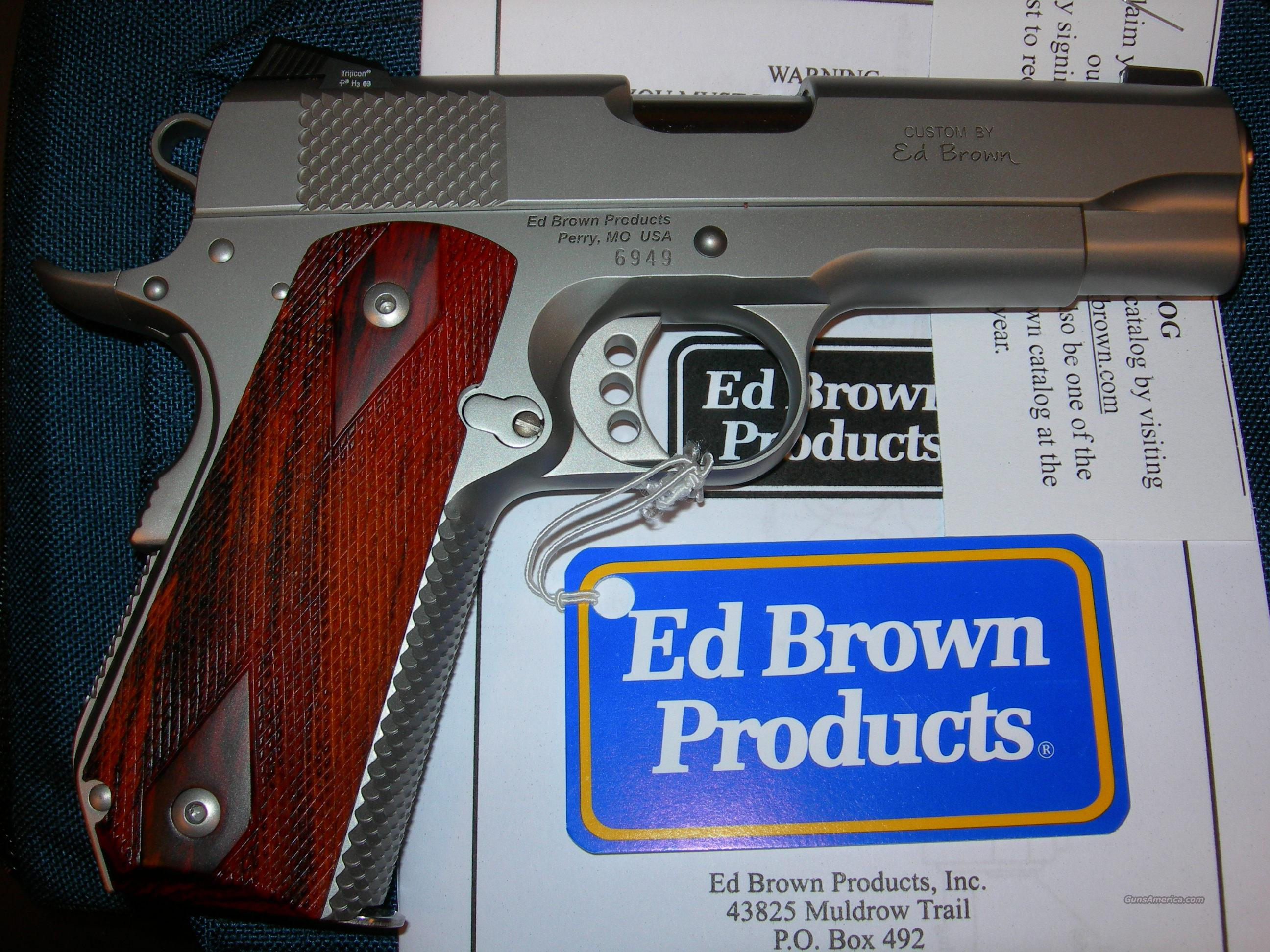 Ed Brown Products Kobra Carry (all stainless) 4.25 inch .45 ACP with Night Sights  Guns > Pistols > Ed Brown Pistols