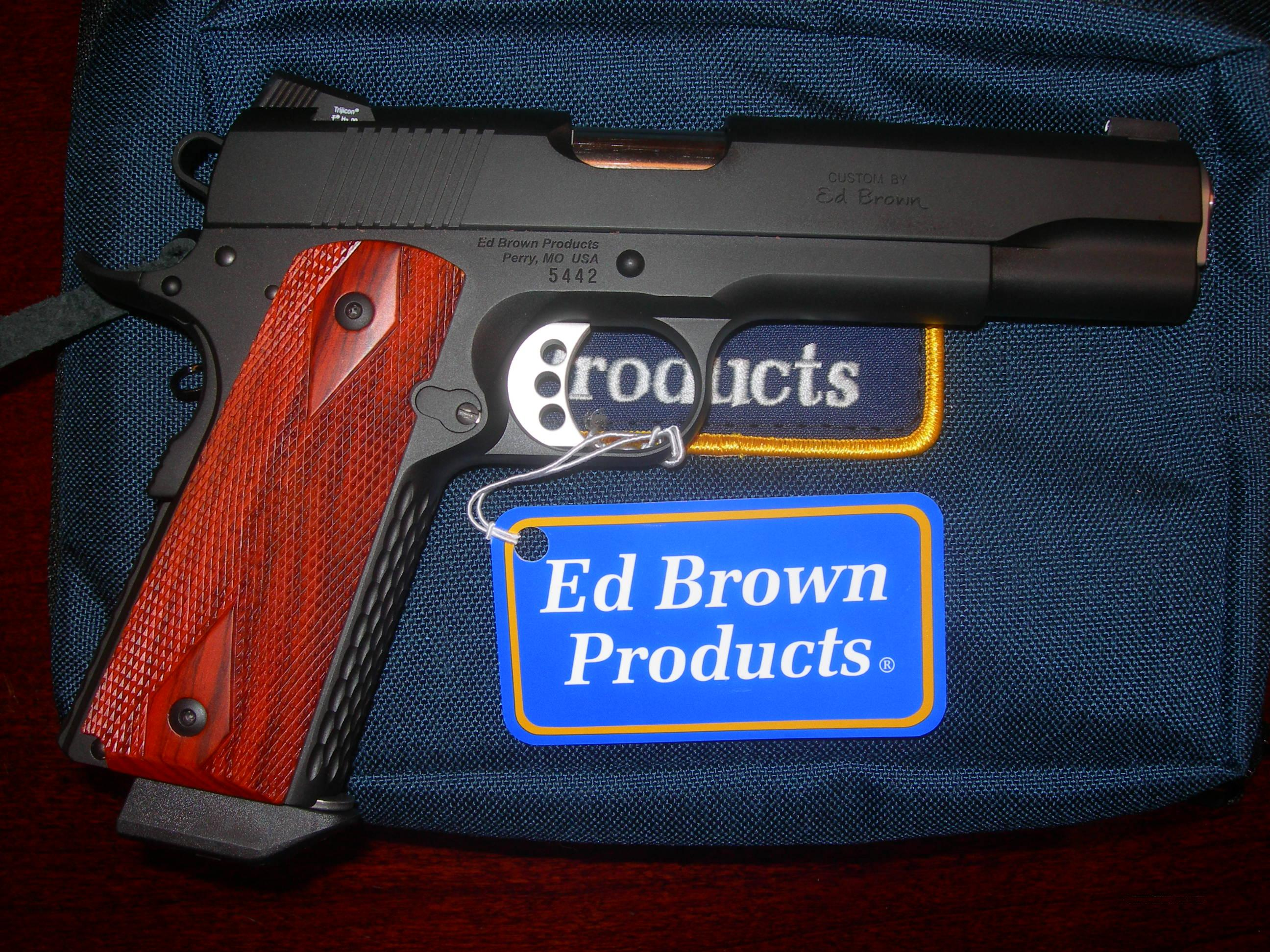 Ed Brown Products Special Forces .45ACP  Guns > Pistols > Ed Brown Pistols