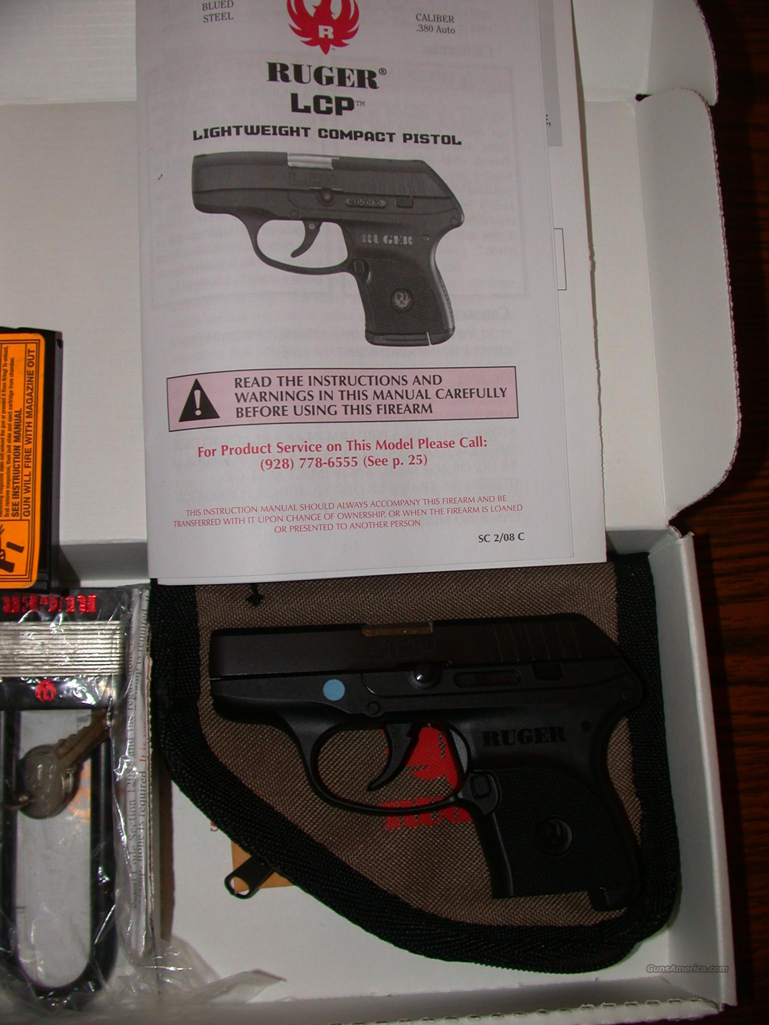 Ruger LCP .380 ACP  Guns > Pistols > Ruger Semi-Auto Pistols > LCP