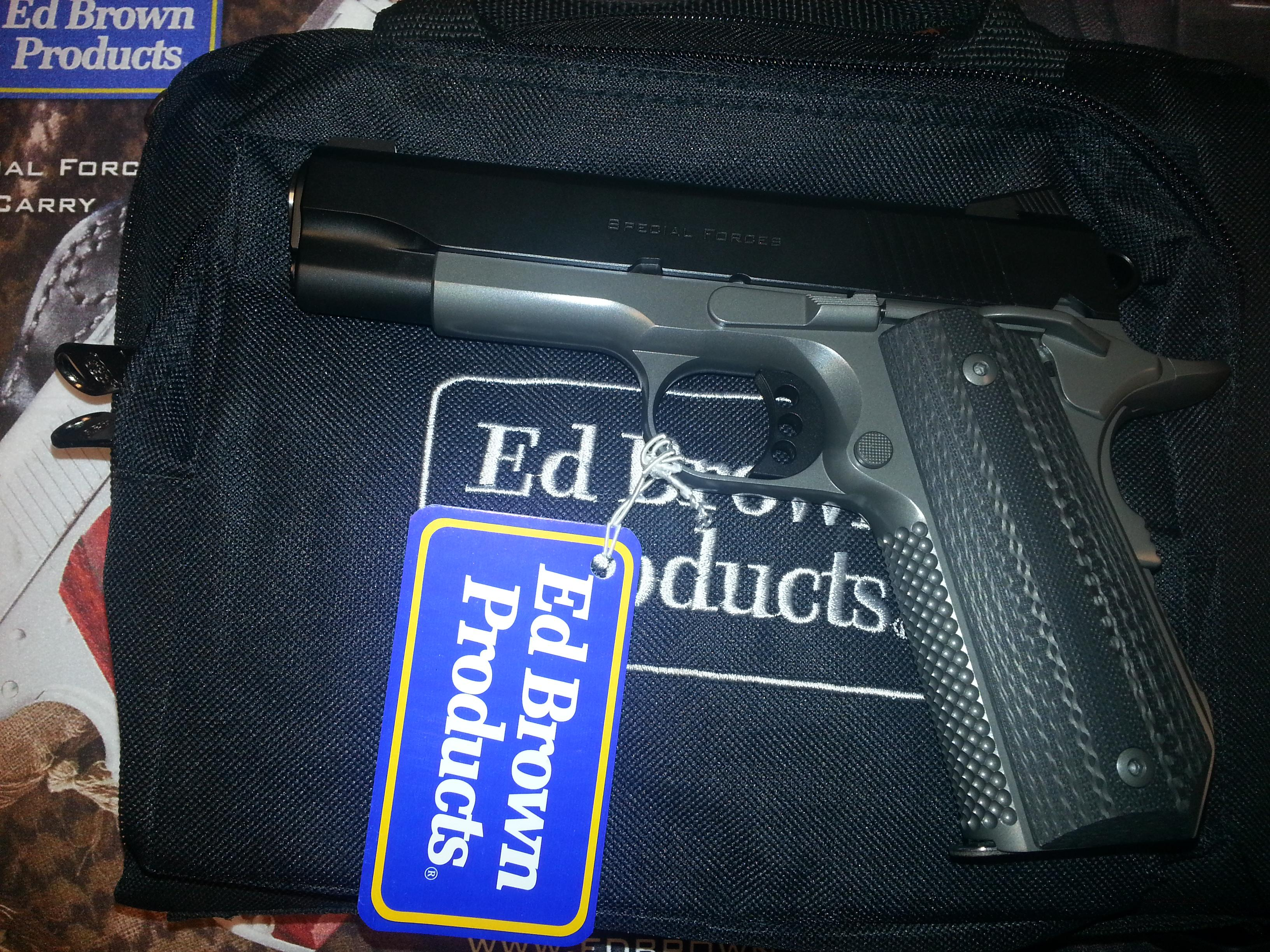 Ed Brown Special Forces Carry II Stealth Gray .45ACP  Guns > Pistols > Ed Brown Pistols