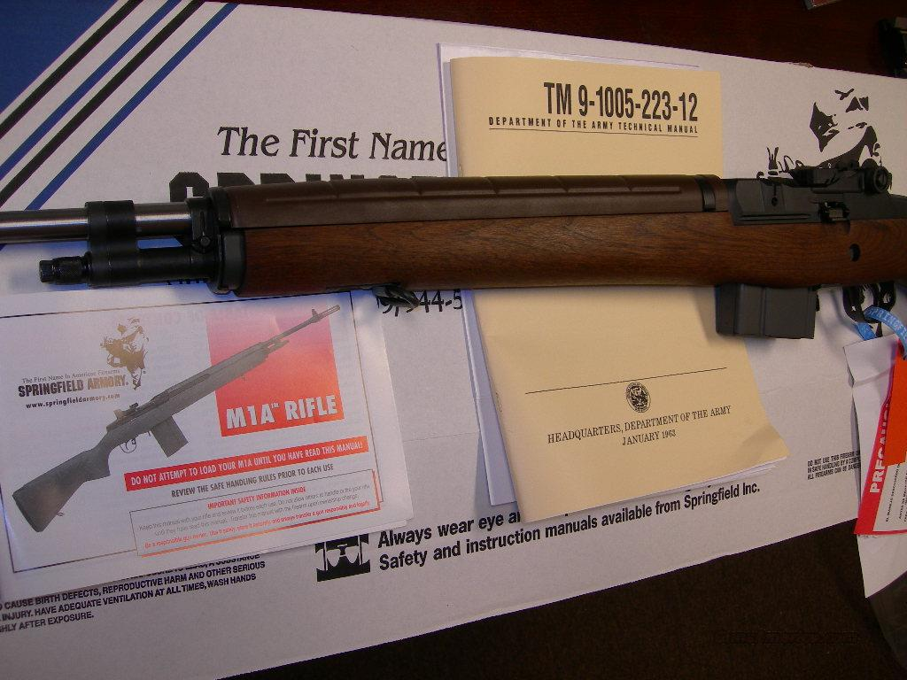 Springfield M1A Loaded Walnut Stainless NM barrel  Guns > Rifles > Springfield Armory Rifles > M1A/M14