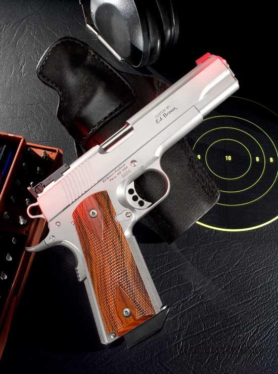 Ed Brown Products Executive Target all Stainless Steel LIMITED EDITION 9MM  Guns > Pistols > Ed Brown Pistols
