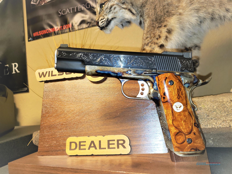 Wilson Combat Classic Supergrade Color Cased Lvl 3 Engraved All upgrades  Guns > Pistols > Wilson Combat Pistols