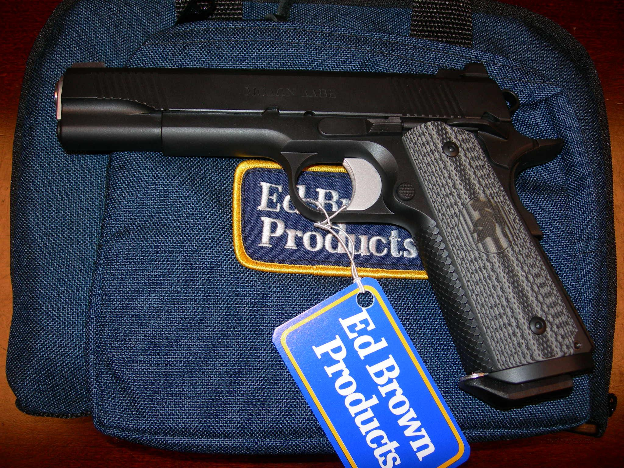 Ed Brown Products  Molon Labe  Guns > Pistols > Ed Brown Pistols