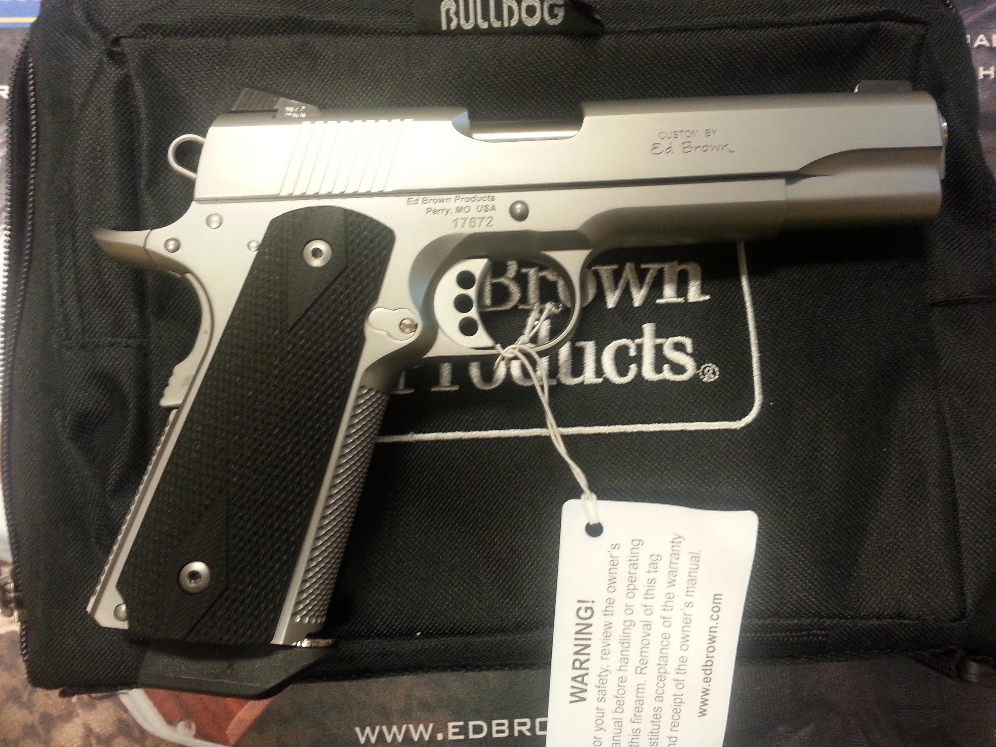 Ed Brown Special Forces 3 Stainless .45ACP  Guns > Pistols > Ed Brown Pistols