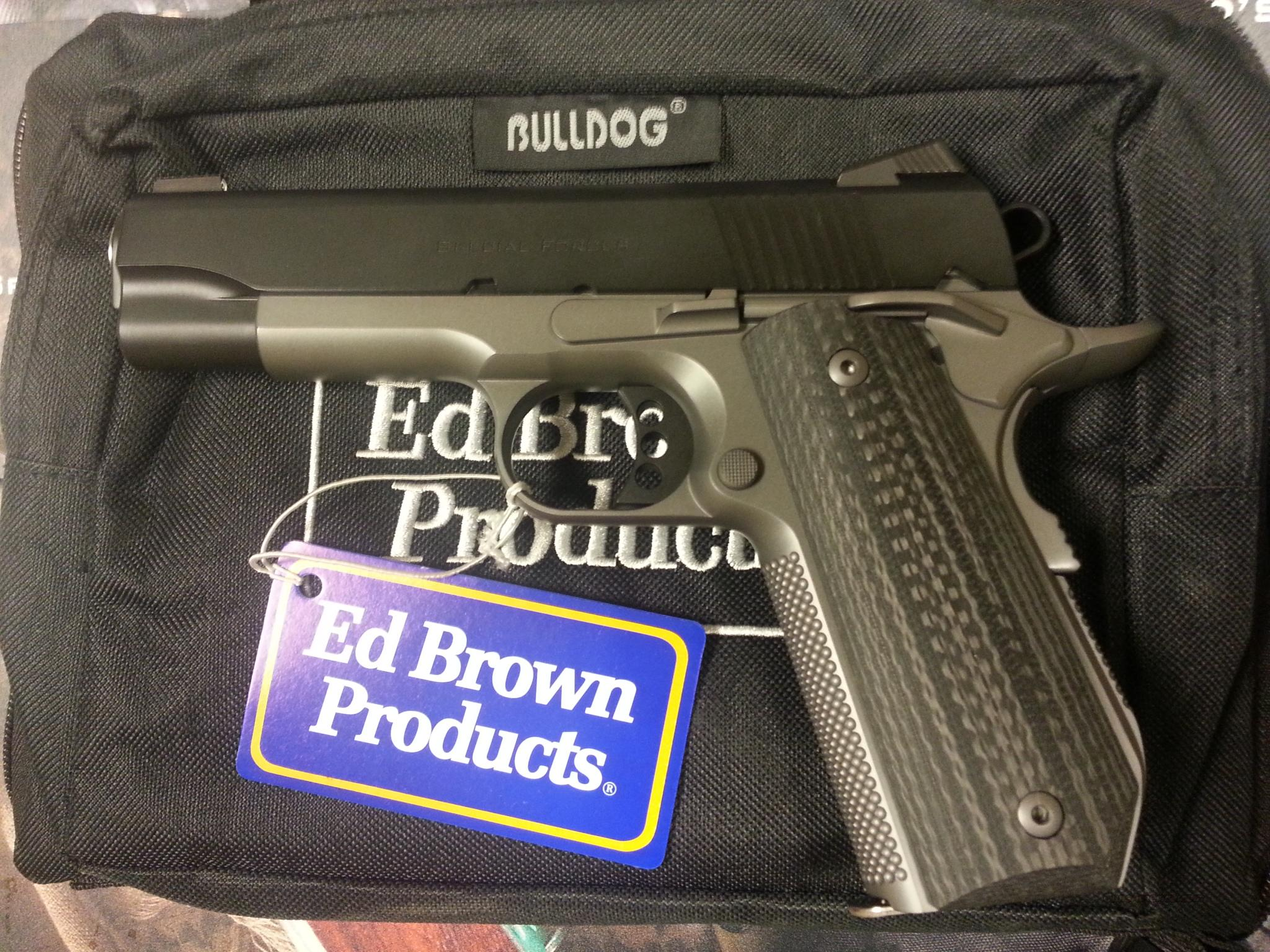 Ed Brown Special Forces Carry III Stealth Gray Gen4  .45ACP  Guns > Pistols > Ed Brown Pistols