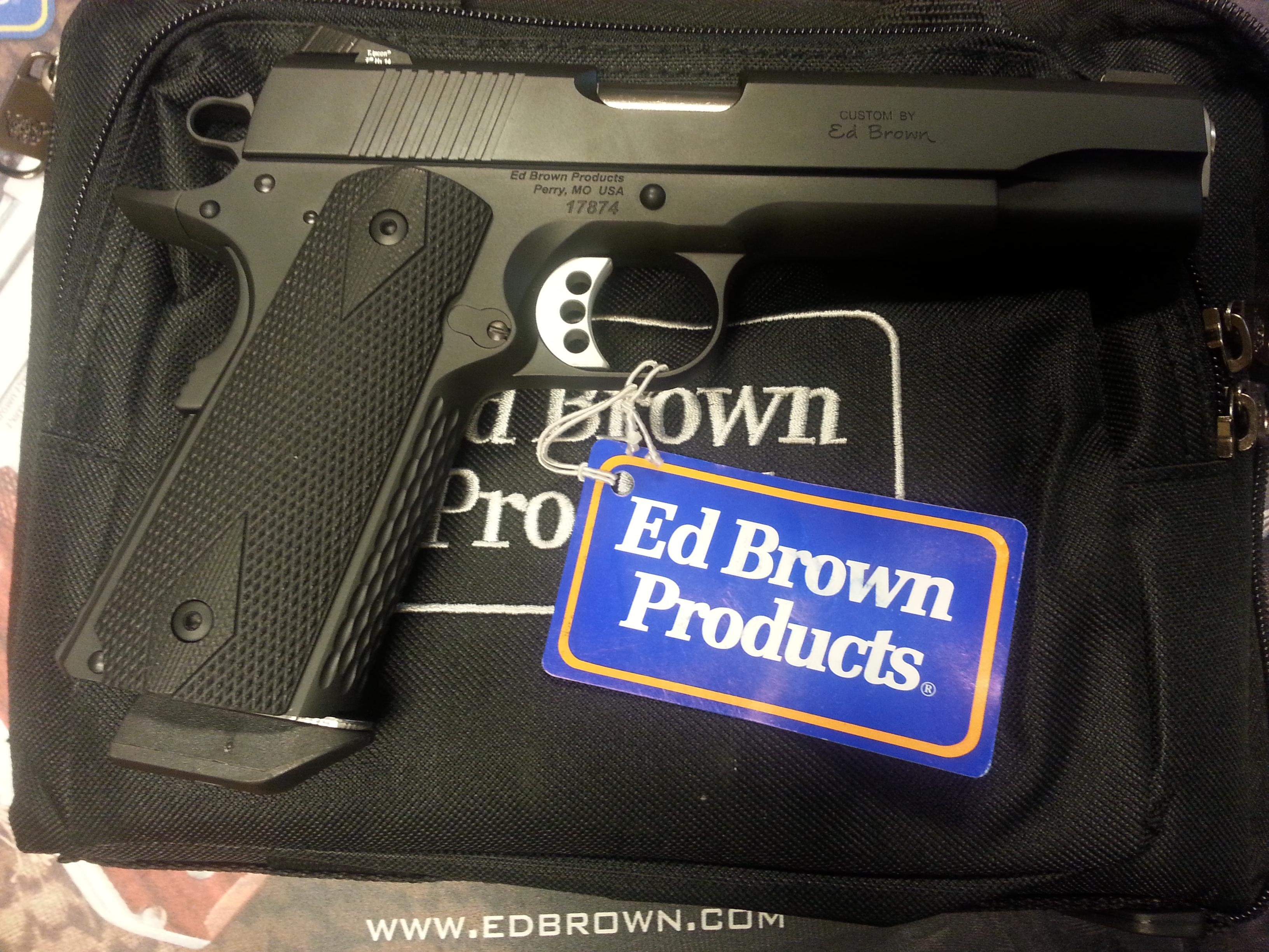 Ed Brown Special Forces  Gen4 .45ACP  Guns > Pistols > Ed Brown Pistols