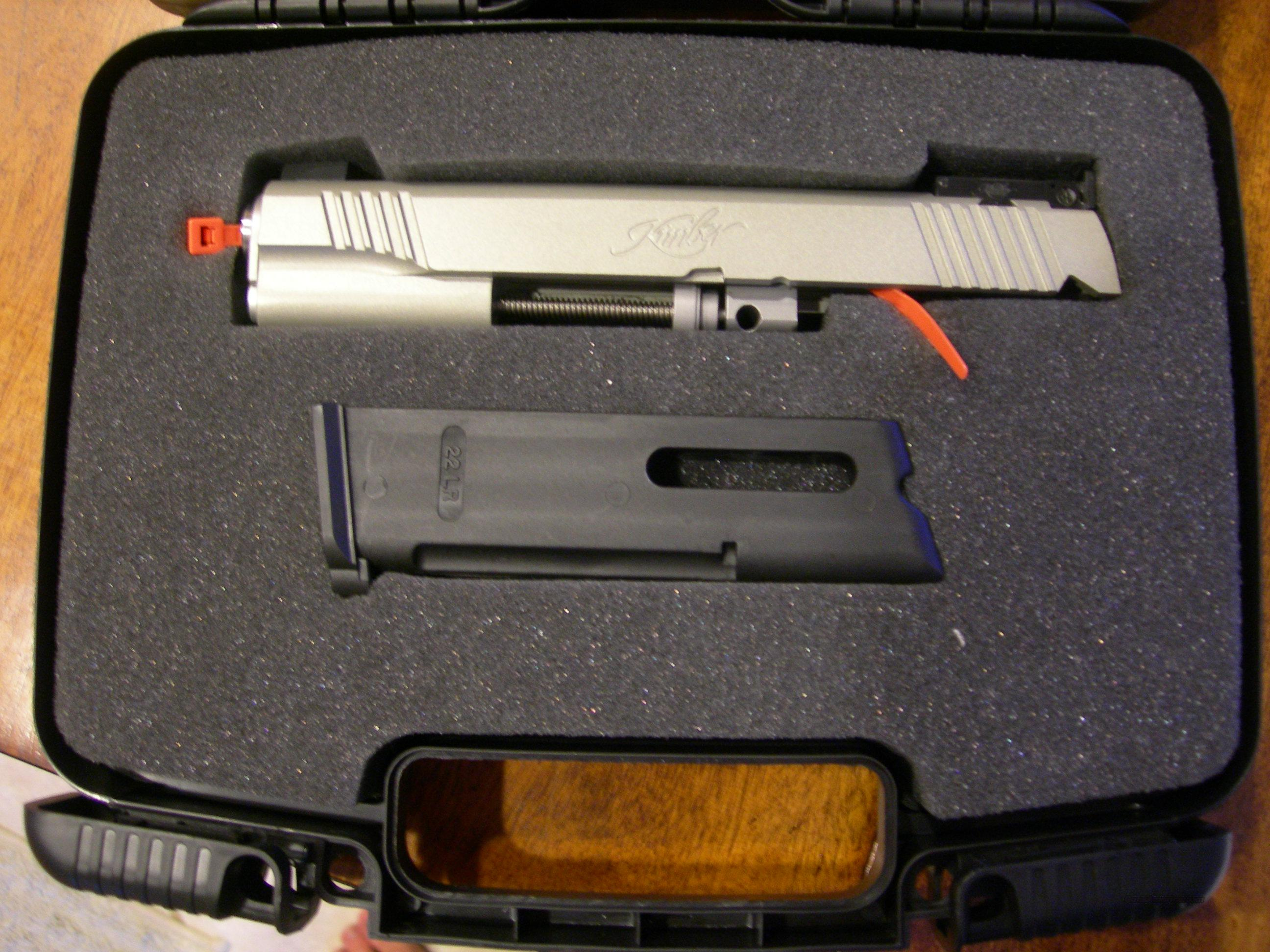 Kimber 22 LR Conversion Kit silver  Guns > Pistols > Kimber of America Pistols