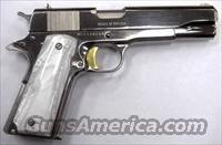 High Standard 1911 38 Super Nickel Gold Pearl   Guns > Pistols > 1911 Pistol Copies (non-Colt)