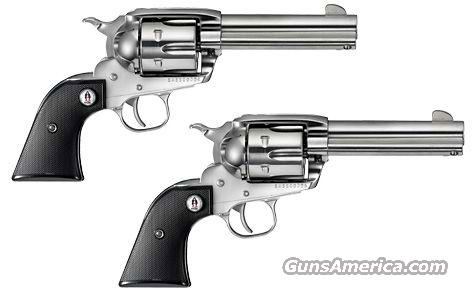 "Ruger Vaquero SASS Set 357 Mag 4.62"" Stainless 5133  Guns > Pistols > Ruger Single Action Revolvers > Cowboy Action"