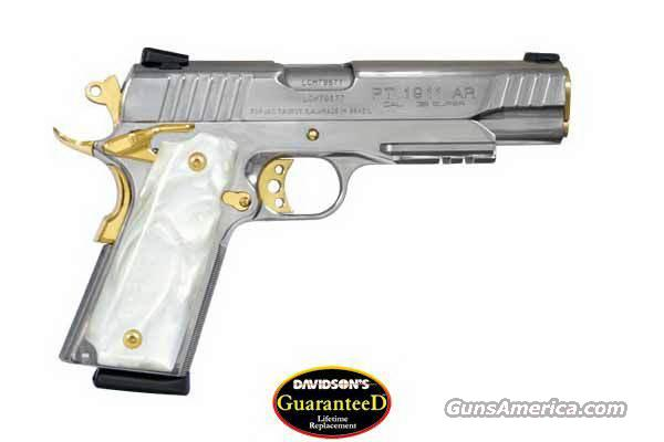taurus 1911 38 super stainless gold pearl grips for sale