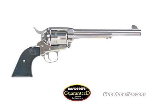 "Ruger New Vaquero 45 LC 7 1/2"" Stainless   Guns > Pistols > Ruger Single Action Revolvers > Cowboy Action"