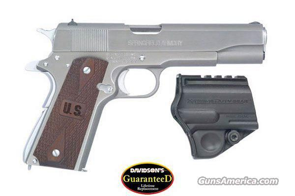 Springfield 1911 GI 45 Stainless Wood PW9151LP  Guns > Pistols > Springfield Armory Pistols > 1911 Type