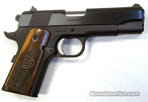 COLT CONCEAL CARRY OFFICER 45 ACP BLUE TALO  Guns > Pistols > Colt Automatic Pistols (1911 & Var)