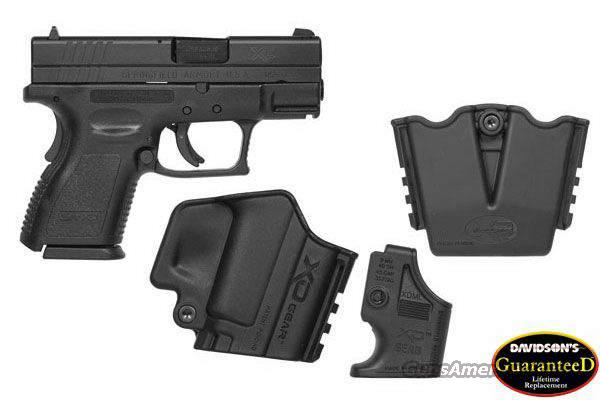 "Springfield XD 9  3"" 9MM Sub Compact  Black  Guns > Pistols > Springfield Armory Pistols > XD (eXtreme Duty)"