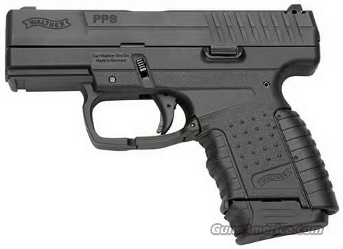 "Walther PPS 40 SW Black 3.2"" 6 Round  Guns > Pistols > Walther Pistols > Post WWII > PP Series"