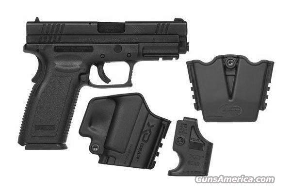 "Springfield XD 45 4"" Black 2/13 RND XD GEAR  Guns > Pistols > Springfield Armory Pistols > XD (eXtreme Duty)"